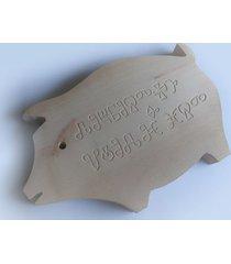 deska drewniana frez inskrypcja na zamówienie