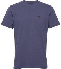 ss pocket tee t-shirts short-sleeved blå lee jeans