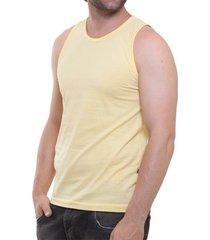 camiseta regata masculina oitavo ato lisa básica mescla