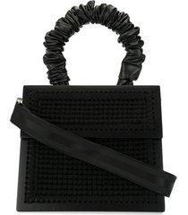 0711 copacabana purse tote - black