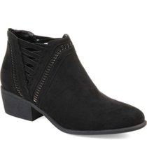 journee collection women's jeni bootie women's shoes