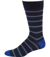 collection tri-stripe crew socks