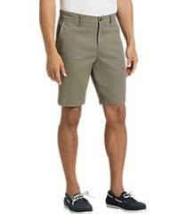 joseph abboud olive modern fit shorts