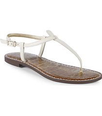 gigi modern leather thong sandals