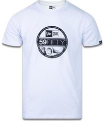 camiseta manga curta trick me 59fifty mescla cinza new era - masculino