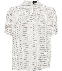 gabriella blouse blouses short-sleeved wit birgitte herskind