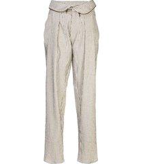 foldover high waist trouser