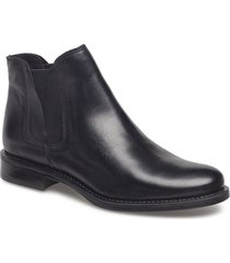 v-split boot shoes boots ankle boots ankle boot - flat svart bianco