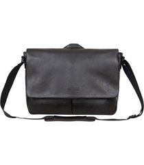 "vegan leather 15.6"" laptop messenger bag"