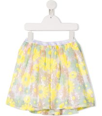 billieblush floral print skirt - yellow