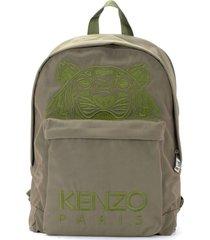 kenzo kampus tiger khaki backpack
