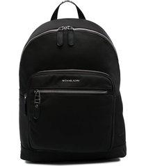 michael kors collection commuter multi-pocket backpack - black