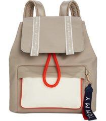 tommy hilfiger alisa smooth nylon backpack