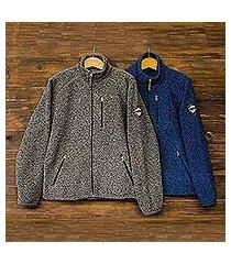 men's wool blend jacket, 'treviso trek' (italy)