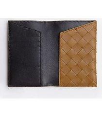 bottega veneta designer men's bags, black leather passport holder