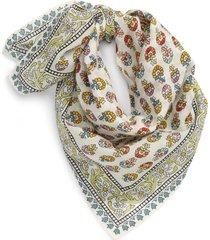 women's madewell bandana, size one size - ivory