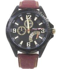 relógio masculino seculus 20523gpsvpc1