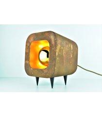 lampa stołowa rusty rdzawa