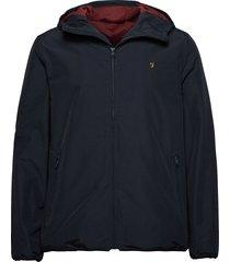 strode hooded coat tunn jacka blå farah