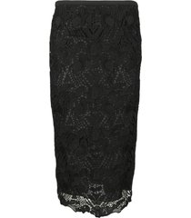 rochas lace skirt