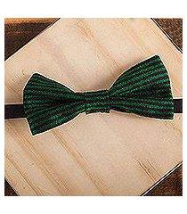 cotton bow tie, 'charming stripes' (mexico)