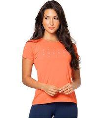 blusa poliéster talla s-m-30 naranja 94773