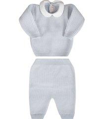 little bear light blue babyboy suit