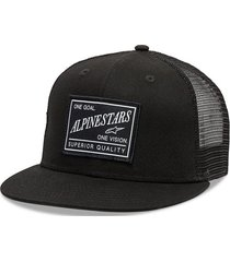 gorro demand trucker negro alpinestars