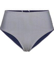 high waist bikini brief bikinitrosa blå superdry