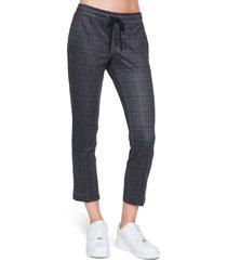 women's pam & gela tweed crop track pants