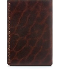 men's ezra arthur no. 7 leather wallet - brown