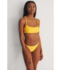 marije zuurveld x na-kd recycled bikinitrosa - yellow