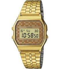 reloj casio a_159wgea_9a dorado acero inoxidable