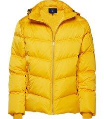 o2. the alta down jacket gevoerd jack geel gant