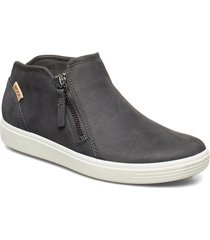 soft 7 w shoes boots ankle boots ankle boot - flat svart ecco