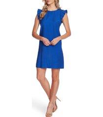 women's cece double flutter sleeve shift dress