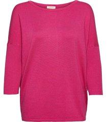 fqj -pu stickad tröja rosa free/quent