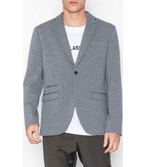 selected homme slhslim-new blazer b kavajer & kostymer grå