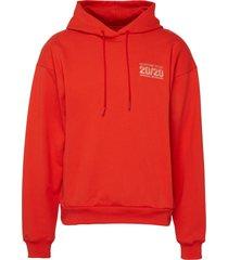 graphic print classic hoodie