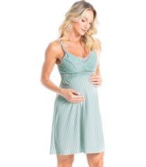 camisola curta maternidade natália