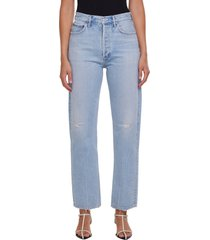 agolde '90s pinch waist high waist jeans, size 29 in flashback at nordstrom