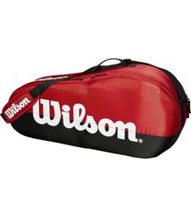 bolso de tenis wilson team collection b/r 1c x3