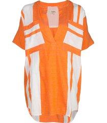 lemlem zoya tunic shirt - orange
