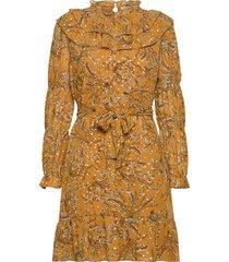 dress kort klänning gul sofie schnoor