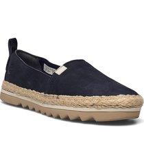 barcelona bay classic leather sandaletter expadrilles låga blå timberland