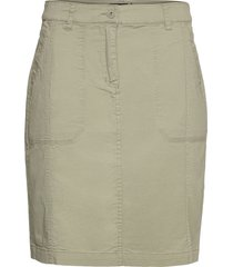 casual skirt knälång kjol grön brandtex