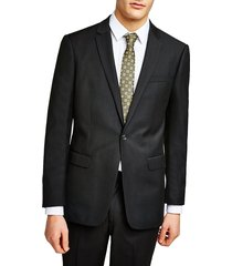 men's topman slim fit suit jacket