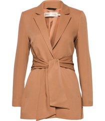 voxiw blazer blazers business blazers beige inwear
