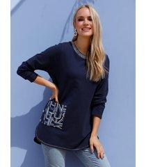 sweatshirt miamoda marine