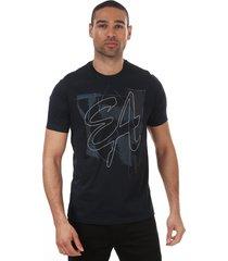 mens stitched logo t-shirt